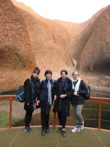 At Uluru, Central Australia